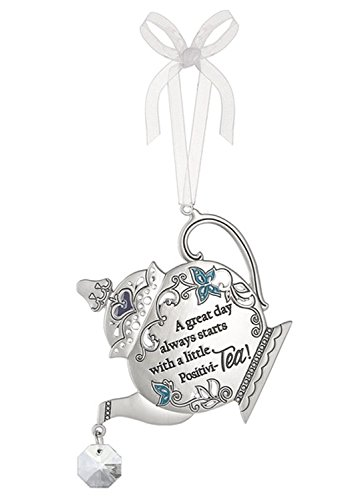 A Great Day Always Starts With a Little Positivi-Tea Tea Kettle Ornament – By Ganz
