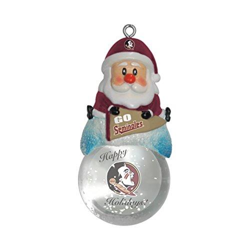 NCAA Florida State Seminoles Snow Globe Ornament