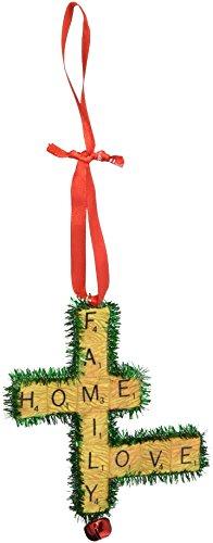 Department 56 Hasbro Scrabble Family Home Love Hanging Ornament