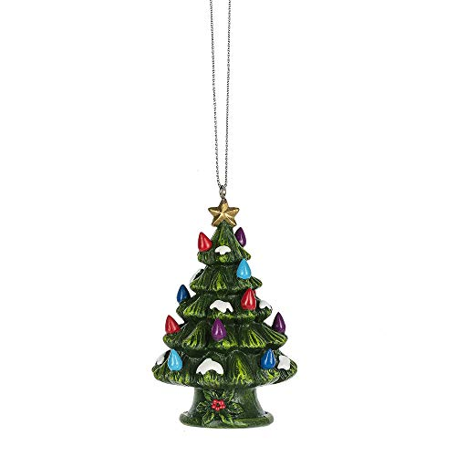 MIDWEST-CBK 3.25″ Mini Ceramic Christmas Tree Ornament 162562