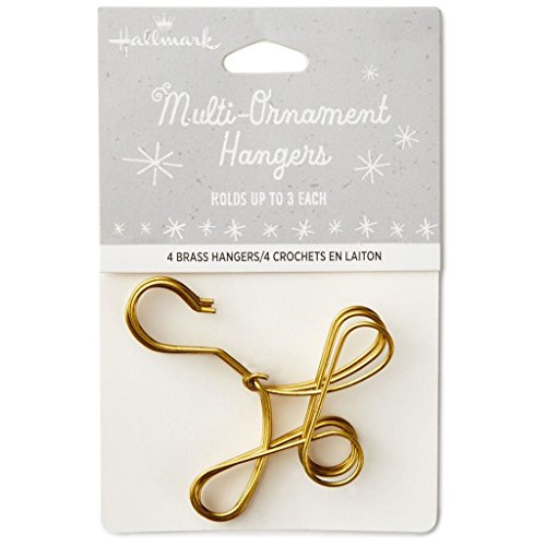 Hallmark Keepsake Christmas Ornament 2018 Year Dated, Multi-Ornament Hangers, Pack of 5