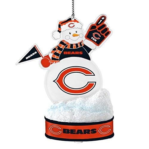 NFL Chicago Bears LED Snowman Ornament