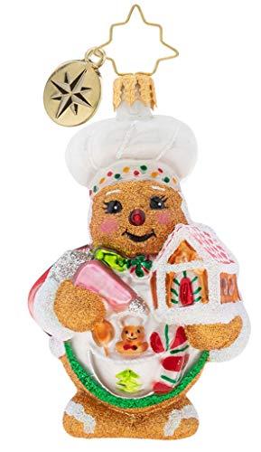 Christopher Radko Sweetest Chef Around Gem Christmas Ornament