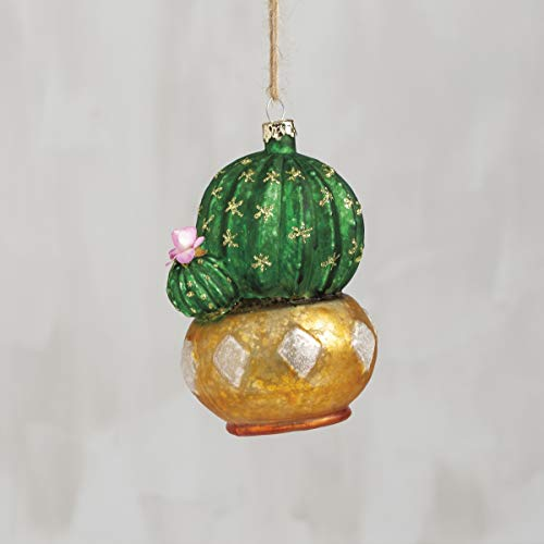 Primitives by Kathy Prickly Pear Ornament
