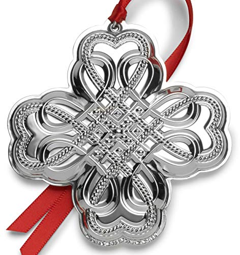 Towle 2019 Celtic Ornament-20th Edition Holiday Ornament, Metal