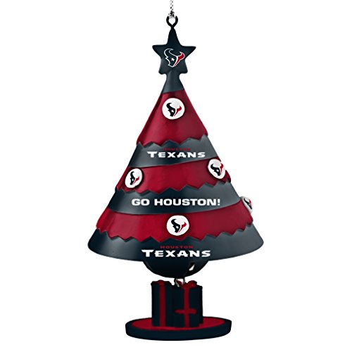 NFL Houston Texans Tree Bell Ornament