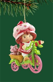 "Carlton Heirloom Strawberry ""Scent-Sational"" 2006 Christmas Ornament #CXOR-110P"