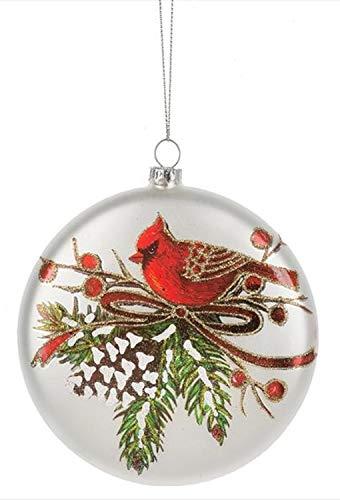 Midwest-CBK Glass Cardinal Ornament