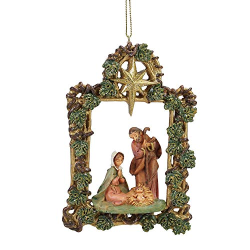 Roman 5.5″ Fontanini Holy Family Christmas Nativity Ornament