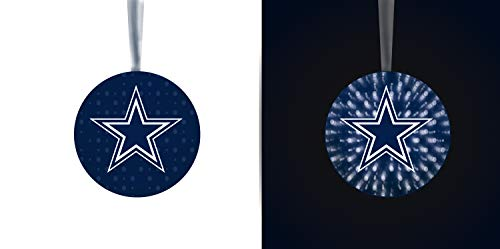 Team Sports America Dallas Cowboys Stargazing Team Logo Matching Ornaments 2-Piece Set