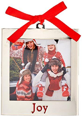 Lenox 870945 Silver Ornaments Joy Frame