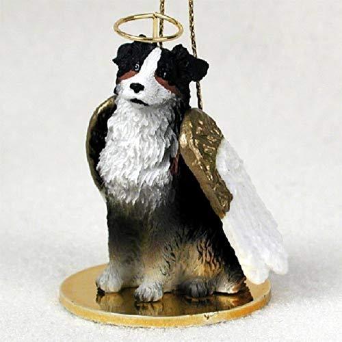 Conversation Concepts Australian Shepherd Tricolor Pet Angel Ornament