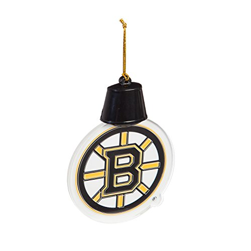 Team Sports America Boston Bruins Radiant Lit Acrylic Team Icon Ornament