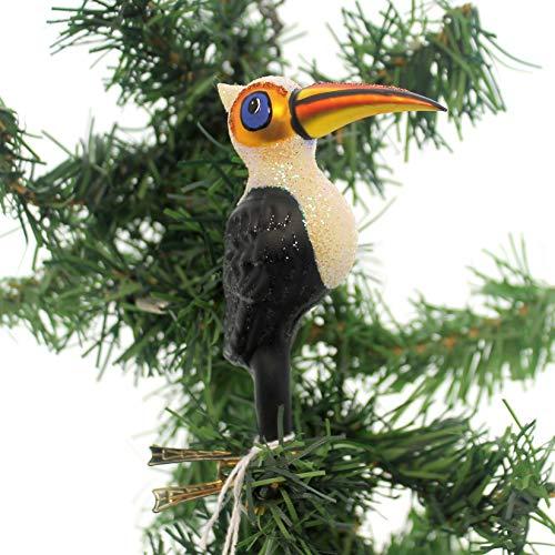 Christina's World Toucan Clip ON Glass Bird Poland Bir232