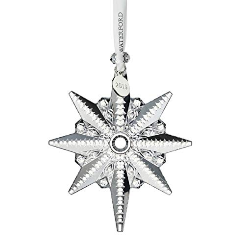 Waterford Crystal Snowstar Ornament 4.4″