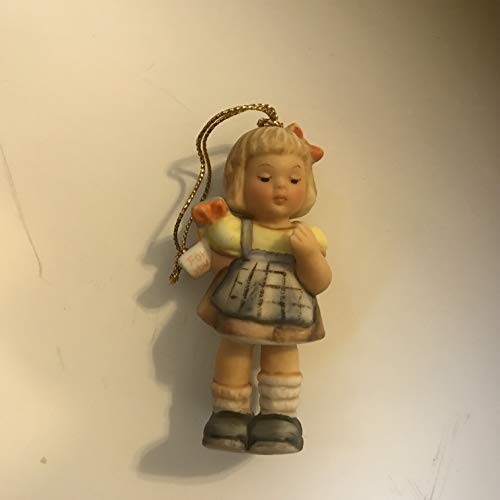 Hummel Girl with Present Ornament