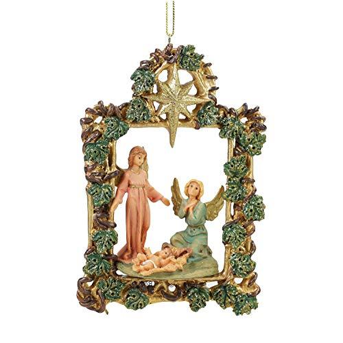 Roman 5.5″ Fontanini Watching Angels Christmas Nativity Ornament