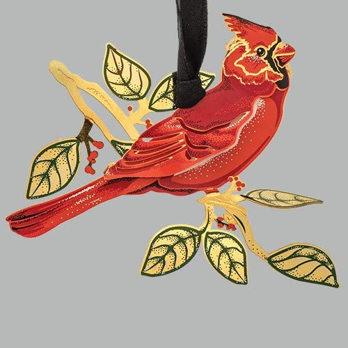 BEACON Design ChemArt Ornament – Cardinal in Nature