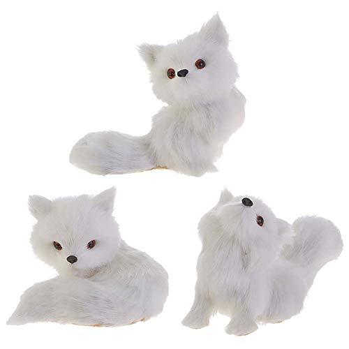 Raz – Fox Ornaments – Set of 3