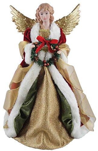 Santa's Workshop 16″ Angel Christmas Tree Topper