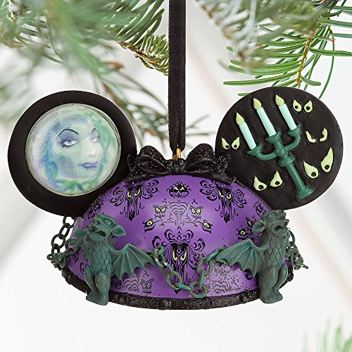 Disney The Haunted Mansion Ear Hat Ornament Purple