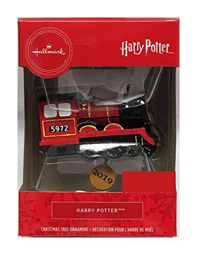 HARRY POTTER Hallmark 2019 Hogwarts Express Christmas Ornament