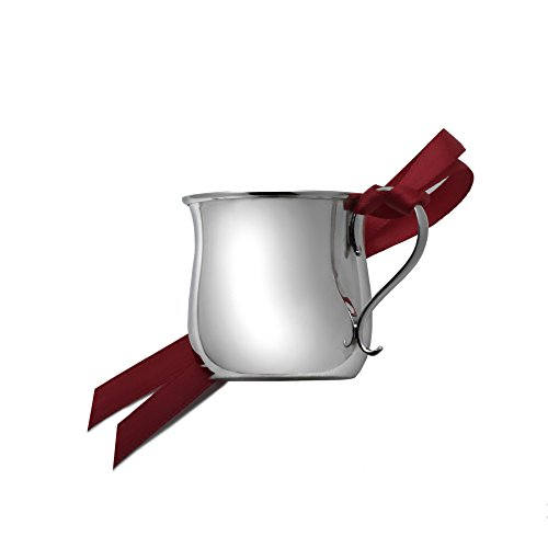 Gorham Engravable Sterling Silver Baby Cup Ornament