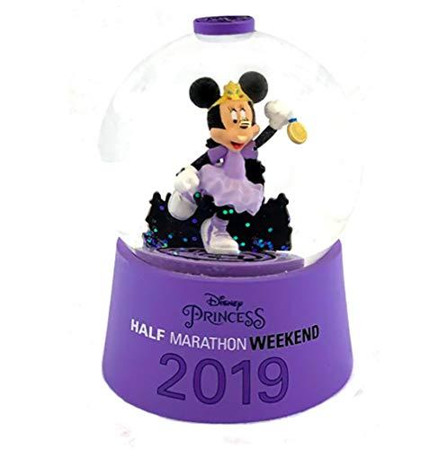 Disney Princess Half Marathon Weekend 2019 Minnie Mouse Snowglobe