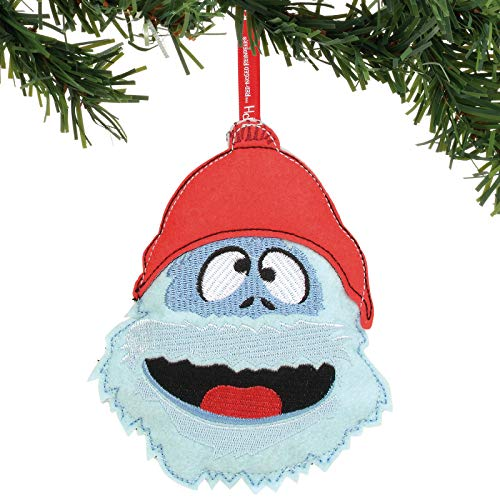 Department 56 Rudolph The Red-Nosed Reindeer Bumble Felt Hanging Ornament, 8″, Multicolor