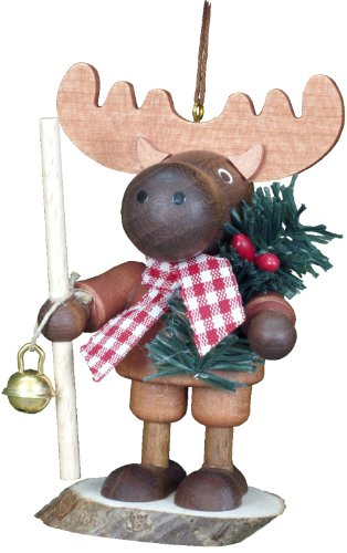 Alexander Taron Importer 13-0705 This Little Roamer Elk Will Bring Lots of Fun for You. Made by Christian Ulbricht in Germany of Wood