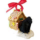 Conversation Concepts Gorilla Gingerbread House Christmas Ornament