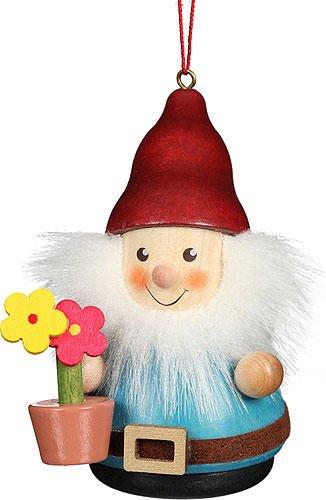 Christian Ulbricht Tree Ornament Teeter Man Dwarf Flower Pot – 8 cm / 3.1 inch