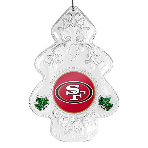 NFL San Francisco 49ers Traditional Acrylic Tree Ornament