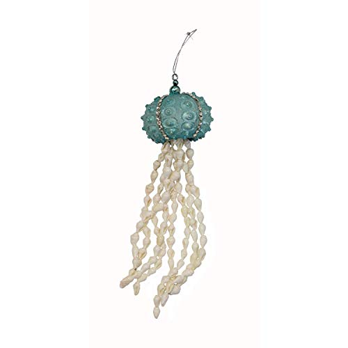 Beachcombers Shell Jellyfish with Gems Ornaments