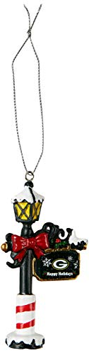 Green Bay Packers Street Lamp Ornament