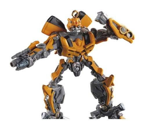 Carlton Cards Heirloom Yellow and Gray Transformers Bumblebee Christmas Ornament