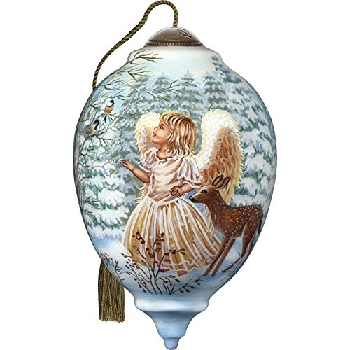 Ne'Qwa Limited Edition Princess Angel in Woodlands Ornament, Multi
