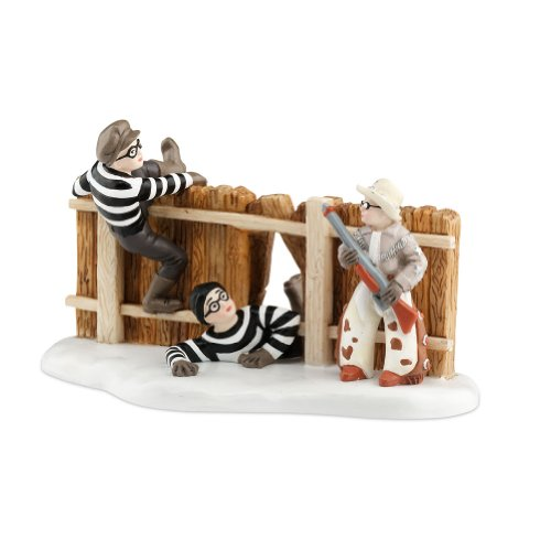 Department 56 A Christmas Story Village Ralphie and Ol' Blue Save the Day Accessory Figurine