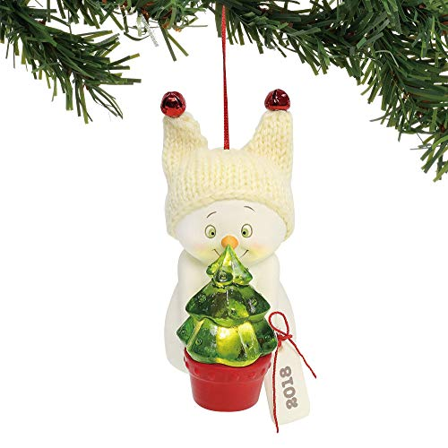 Department 56 Snowpinions by The Light of The Tree, 3.25″ Hanging Ornament, Multicolor