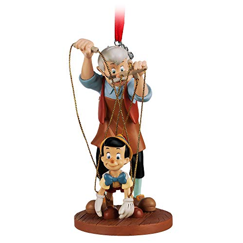 Disney Pinocchio and Geppetto Sketchbook Ornament
