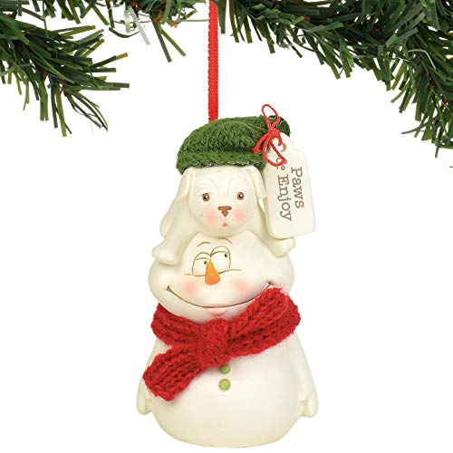 Department 56 Snowpinions Paws and Enjoy Hanging Ornament, 3.375″, Multicolor