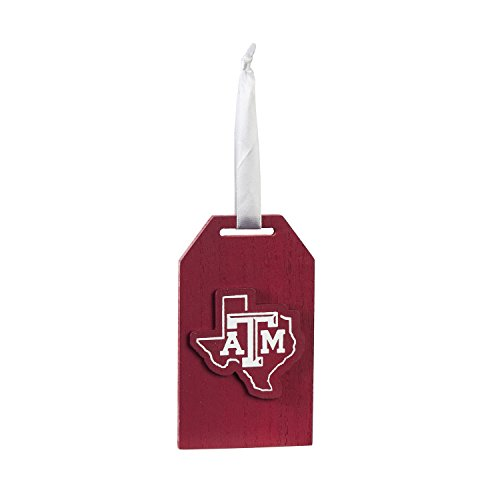 Team Sports America Texas A&M Team Logo Gift Tag Ornament