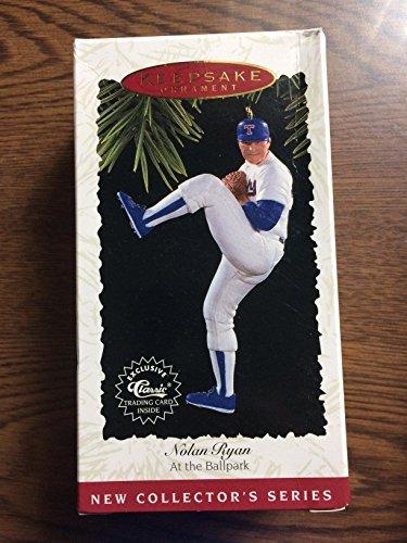 Hallmark MLB Baseball Christmas Ornament Nolan Ryan