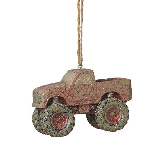 Midwest Gloves Muddy Monster Truck Ornament