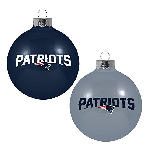 NFL Home and Away Ornament (Set of 2) NFL Team: New England Patriots