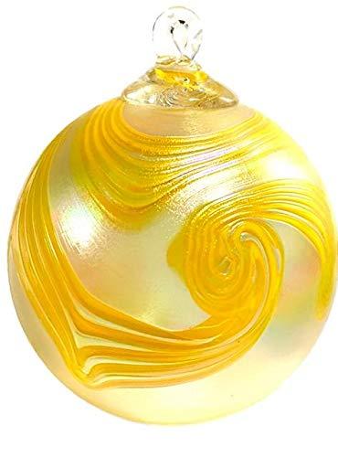 Glass Eye Studio Daisy Swirl Ornament