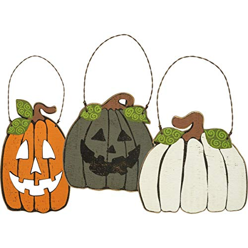 Primitives by Kathy Ornament Set – Pumpkins
