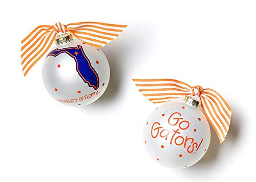 Coton Colors University of Florida Glass Ornament – State