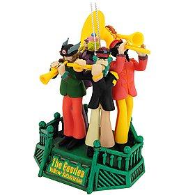 Carlton Cards Heirloom The Beatles Band Yellow Submarine Christmas Ornament