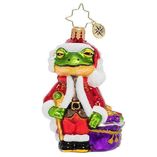Christopher Radko Froggy Santa Little Gem